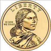 Sacagawea Dollar Coin Picture